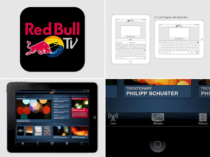 Red Bull TV · App for iPad