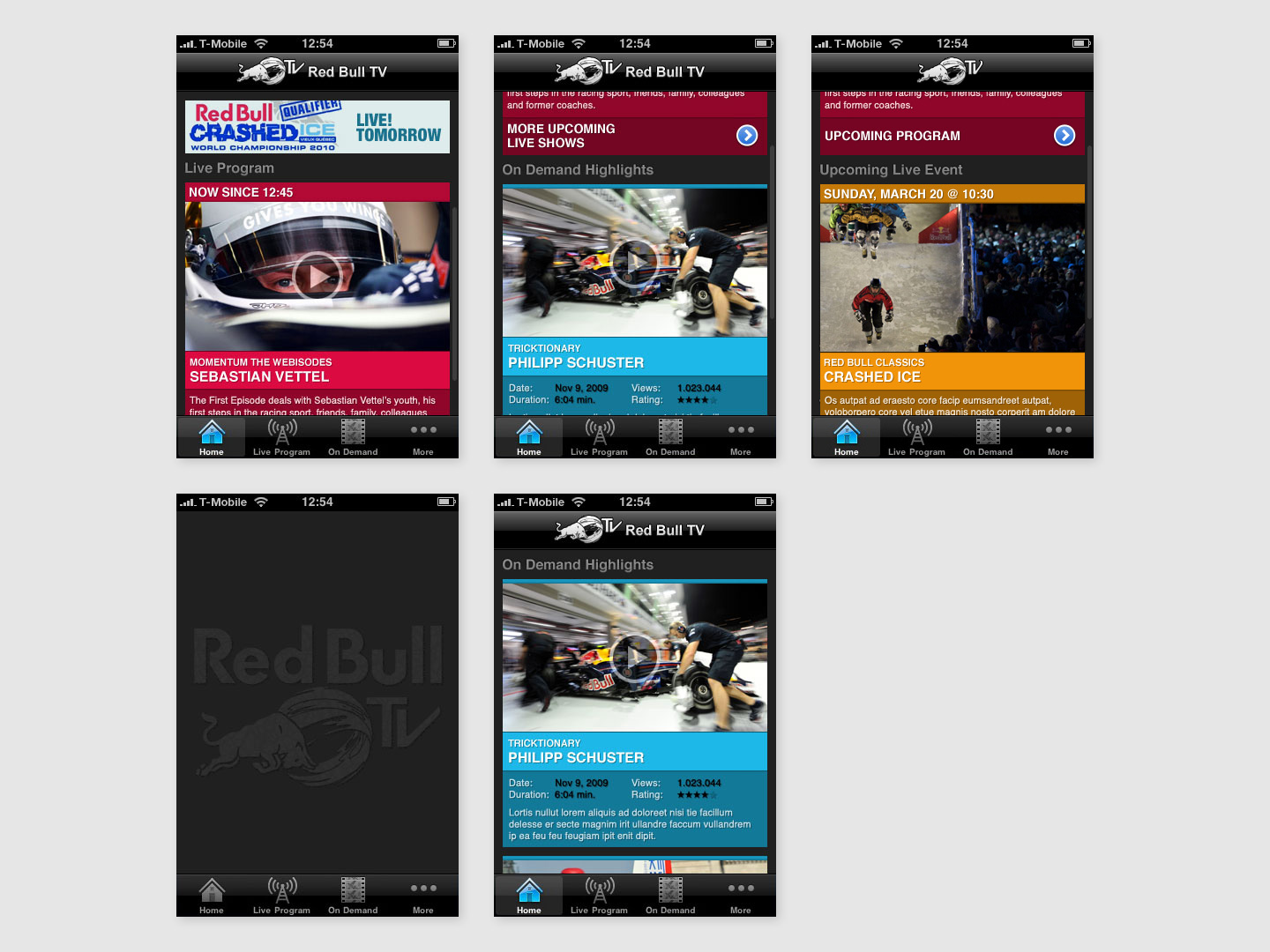 Red Bull TV · App for iPhone