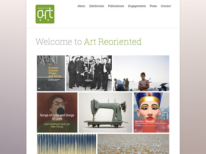 Art Reoriented Website