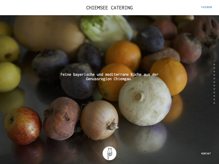 Chiemsee Catering – Relaunch 2016