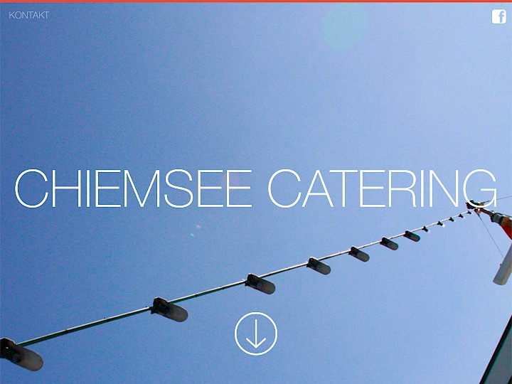 Chiemsee Catering Website