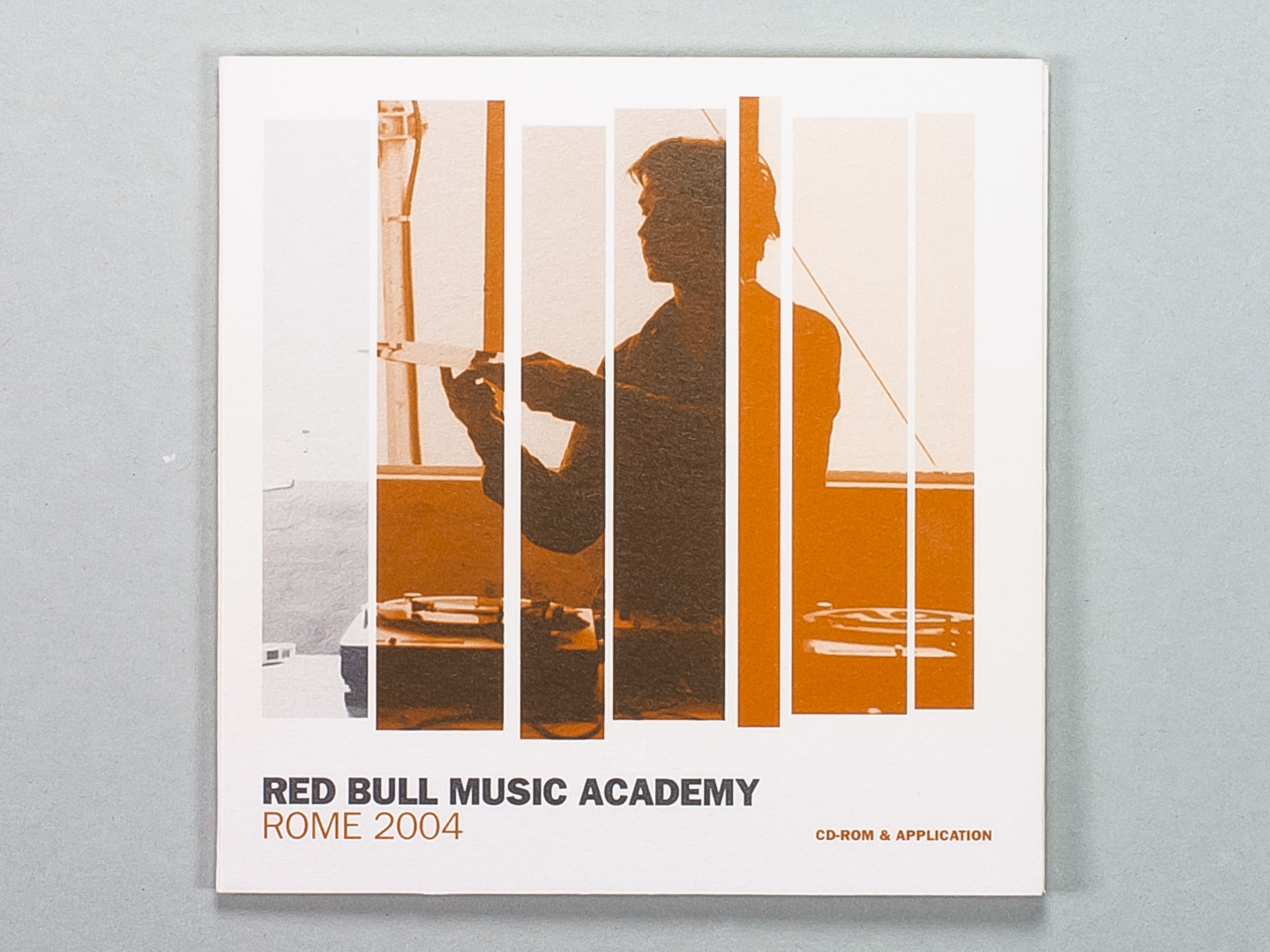 Red Bull Music Academy · Application Info · Rome 2004